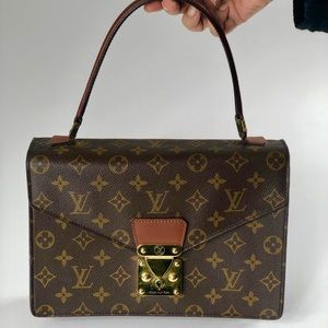 Authentic Louis Vuitton Concorde Monogram Bag